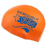 Seriously FUN Silicone Swimming Cap